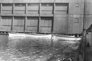 Empty Titanic Lifeboats