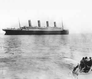 Titanic Leaving Queenstown
