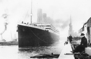 Titanic Embarking