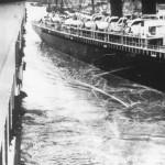 Titanic Passing the Vessel New York