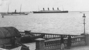 Titanic Passing Isle of Wright
