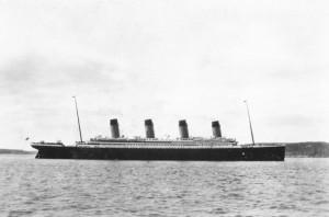 Titanic Arriving in Queenstown