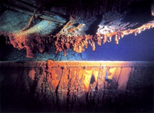 Titanic Port Side Deck